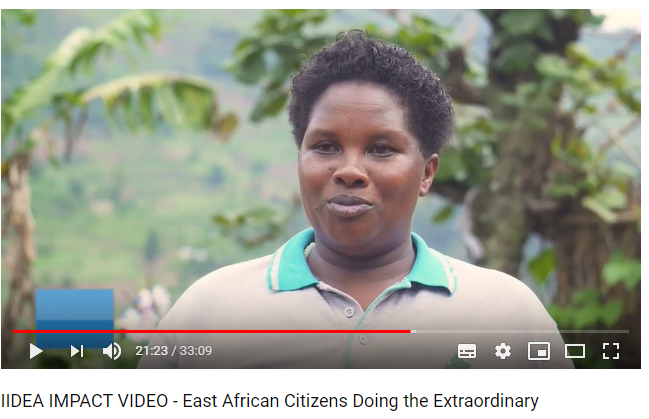 IIDEA Impact Video – East African Citizens Doing the Extraordinary